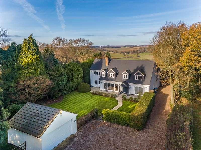 5 Bedrooms Detached House for sale in Potten End Hill, Water End, Hemel Hempstead