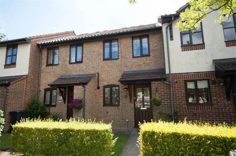 2 Bedrooms Terraced House for rent in Horseshoe Crescent, Burghfield Common, Reading, RG7