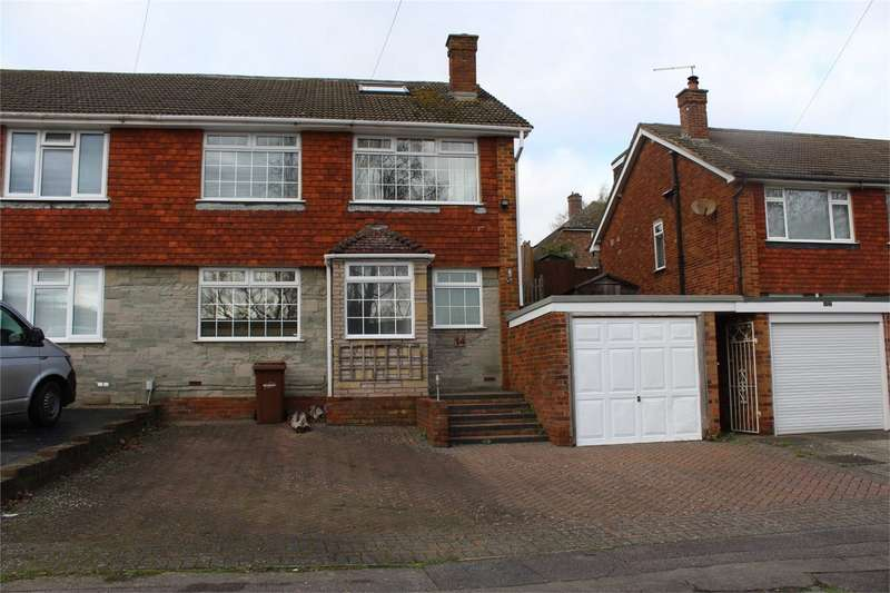 4 Bedrooms Semi Detached House for sale in Chesham Drive, Rainham, Gillingham, Kent