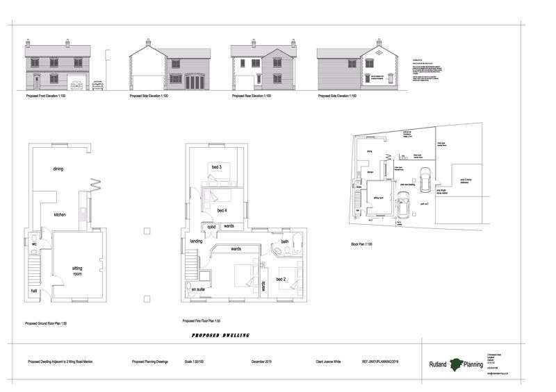 4 Bedrooms Property for sale in Wing Road, Manton, Oakham
