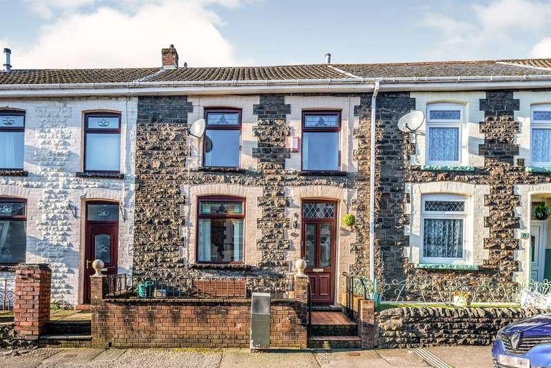 3 Bedrooms Terraced House for sale in Deri Terrace, Tylorstown, Ferndale