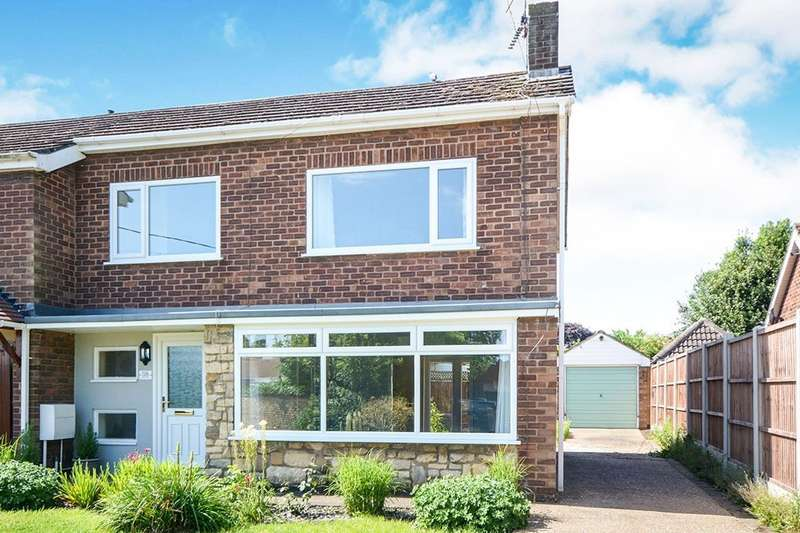 3 Bedrooms Semi Detached House for sale in Water Lane, North Hykeham, Lincoln, Lincolnshire, LN6