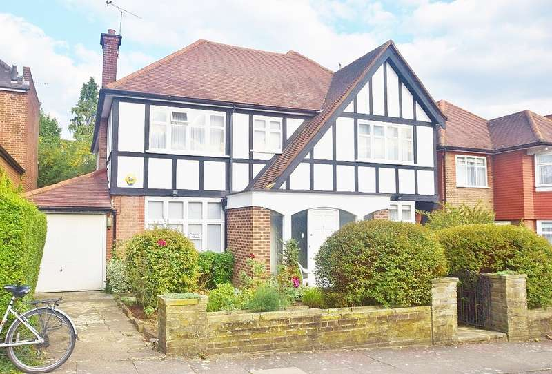 5 Bedrooms Detached House for sale in PARK WAY, TEMPLE FORTUNE, GOLDERS GREEN, NW11
