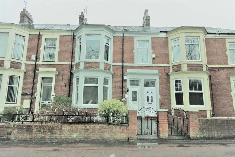 2 Bedrooms Flat for sale in Chesterwood Terrace, Bill Quay, Gateshead, NE10