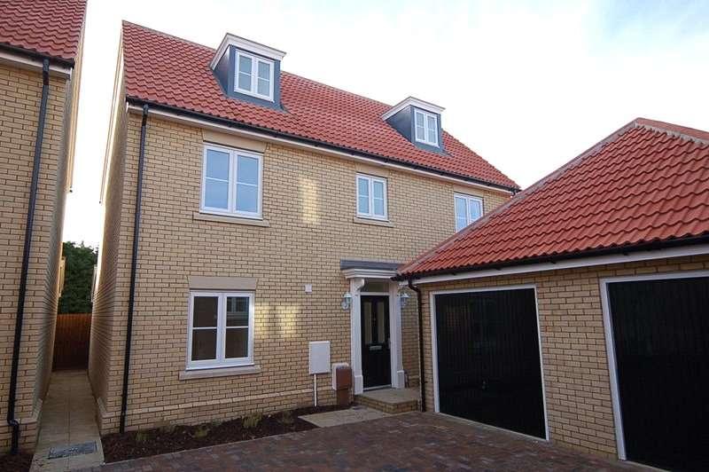 5 Bedrooms Detached House for rent in Bridge Farm Close, Mildenhall, Bury St Edmunds, Suffolk, IP28