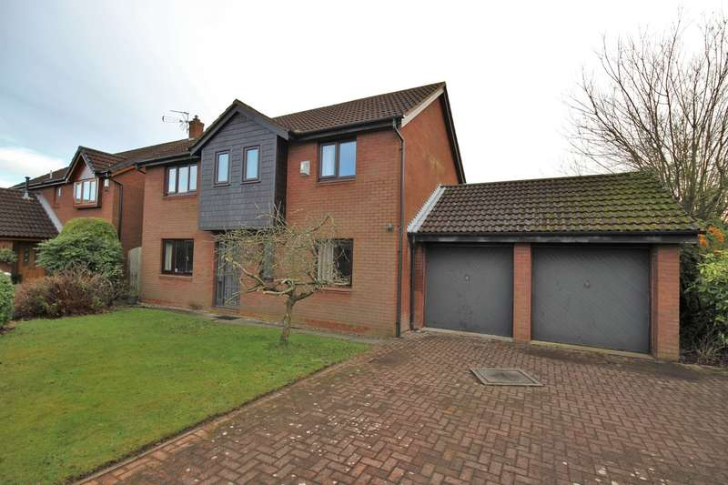 4 Bedrooms Detached House for rent in Warkworth Close, Widnes, WA8