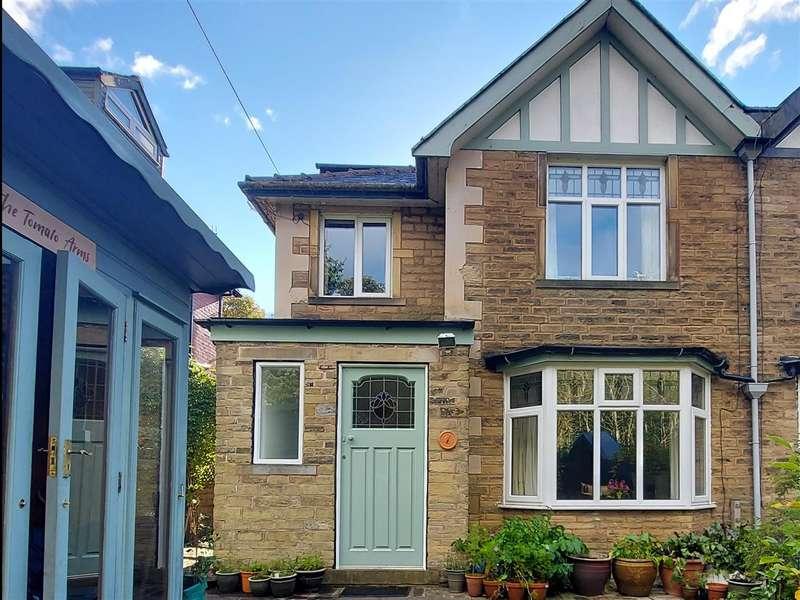4 Bedrooms Semi Detached House for sale in Hillcroft, Stubbing Drive, Hebden Bridge