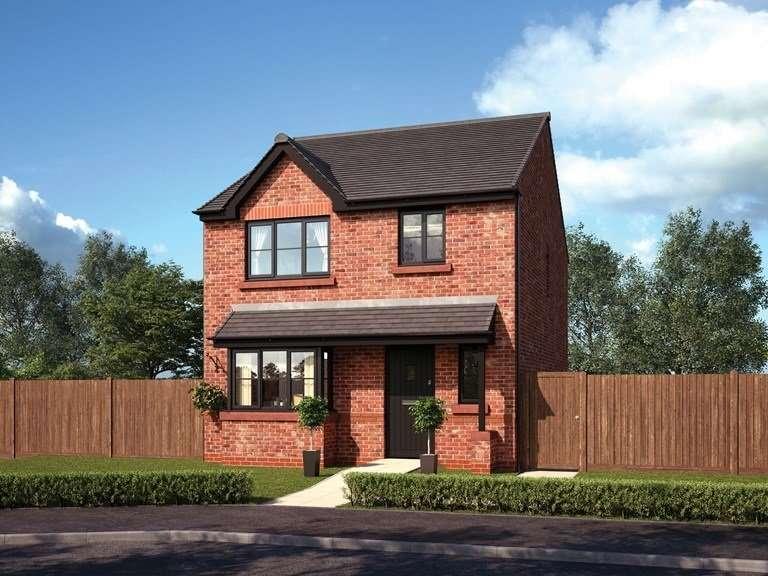 3 Bedrooms Detached House for sale in Plot 38 The Weston, Grey Gables Farm, Brindle Road, Bamber Bridge, PR5