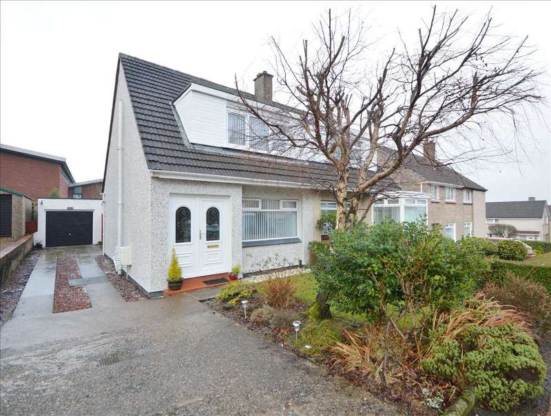 3 Bedrooms Semi Detached House for sale in Luss Brae, Hamilton