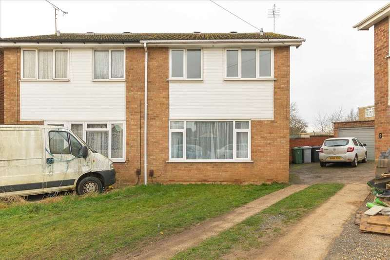 3 Bedrooms Semi Detached House for rent in Thames Court, Burton Latimer