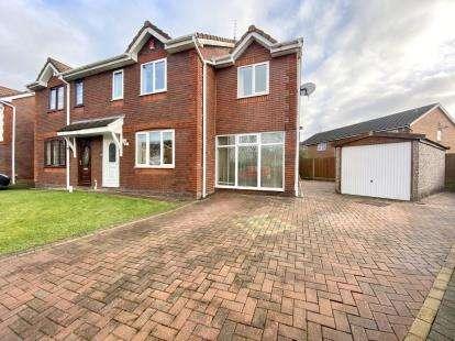 4 Bedrooms Semi Detached House for sale in Neapsands Close, Fulwood, Preston, Lancashire, PR2
