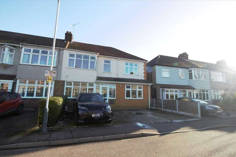 5 Bedrooms Semi Detached House for rent in Beechfield Gardens, Romford
