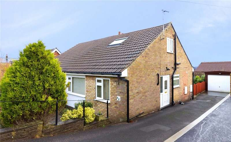 3 Bedrooms Semi Detached Bungalow for sale in Ashfield Road, Greetland, HALIFAX, West Yorkshire, HX4