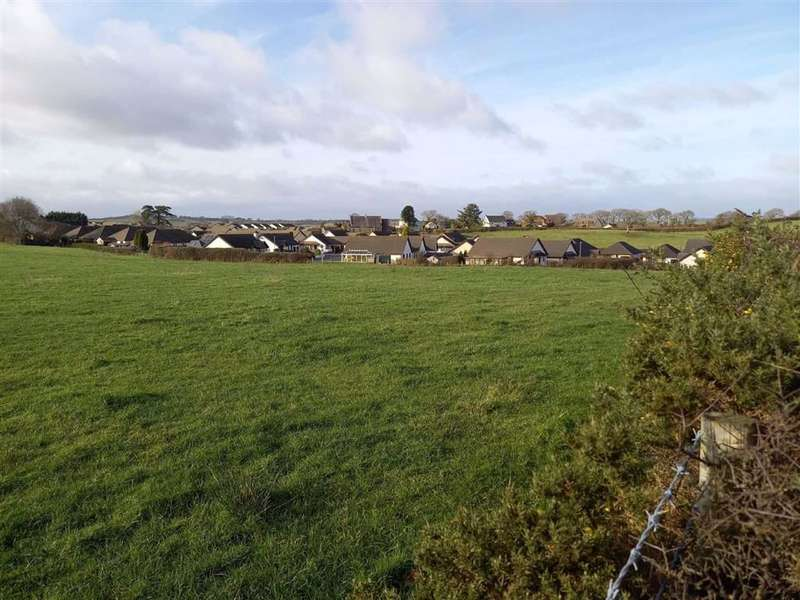 Land Commercial for sale in Dol Y Dderwen, Llangain, Carmarthen