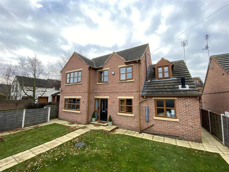 5 Bedrooms Detached House for sale in Downes Court, Whitley, Goole