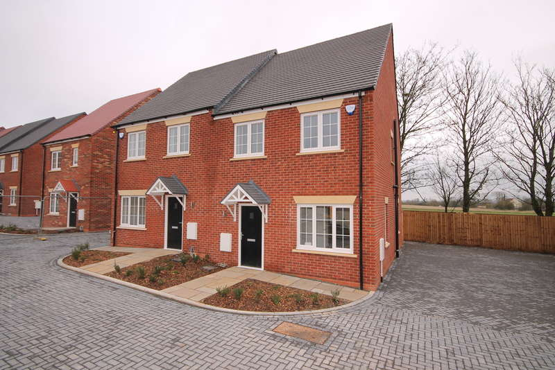 3 Bedrooms Semi Detached House for sale in Plot 63 The Maple, Nightingale Road, Great Barford, Bedford, MK44