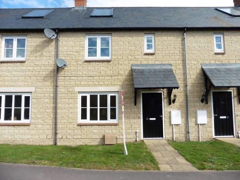 2 Bedrooms Terraced House for rent in Fritillary Mews, Ducklington, Witney, Oxon, OX29 7AB