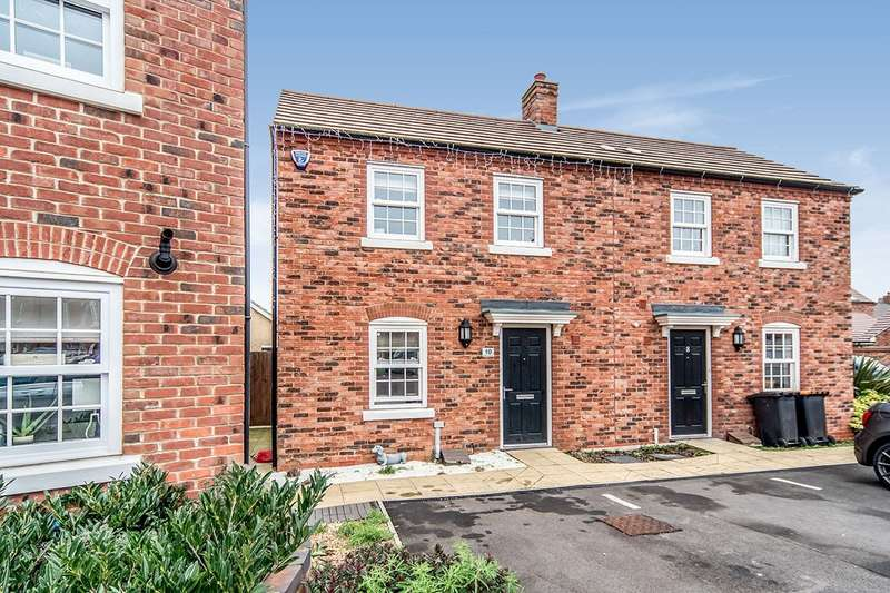 2 Bedrooms End Of Terrace House for sale in Baker Drive, Kempston, Bedford, Bedfordshire, MK42