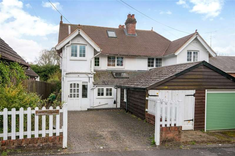 3 Bedrooms Semi Detached House for sale in Waterworks Road, Otterbourne, Winchester, Hampshire, SO21