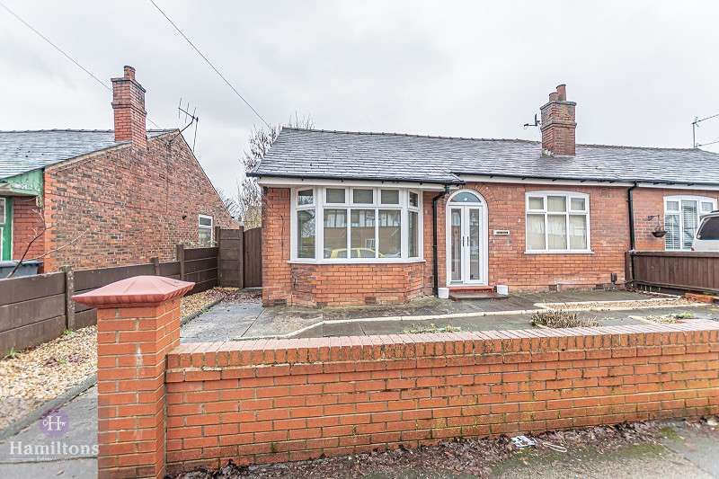 3 Bedrooms Semi Detached Bungalow for sale in Holden Road, Leigh, Greater Manchester. WN7 1JN