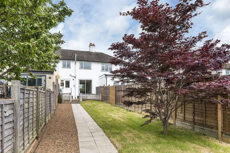 3 Bedrooms Terraced House for sale in Chantry Road, Chessington, KT9