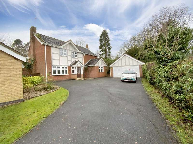 4 Bedrooms Detached House for sale in Sence Crescent, Great Glen