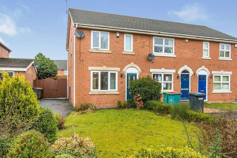 2 Bedrooms Semi Detached House for sale in Leesands Close, Fulwood, Preston, Lancashire, PR2