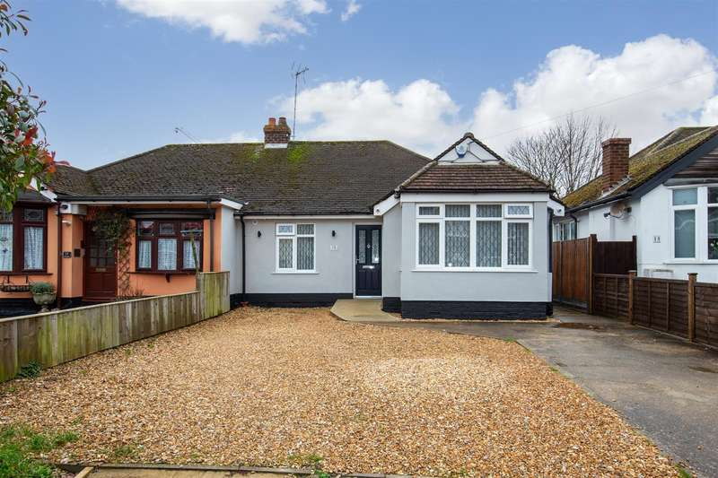 2 Bedrooms Semi Detached Bungalow for sale in Drury Lane, Houghton Regis, Bedfordshire