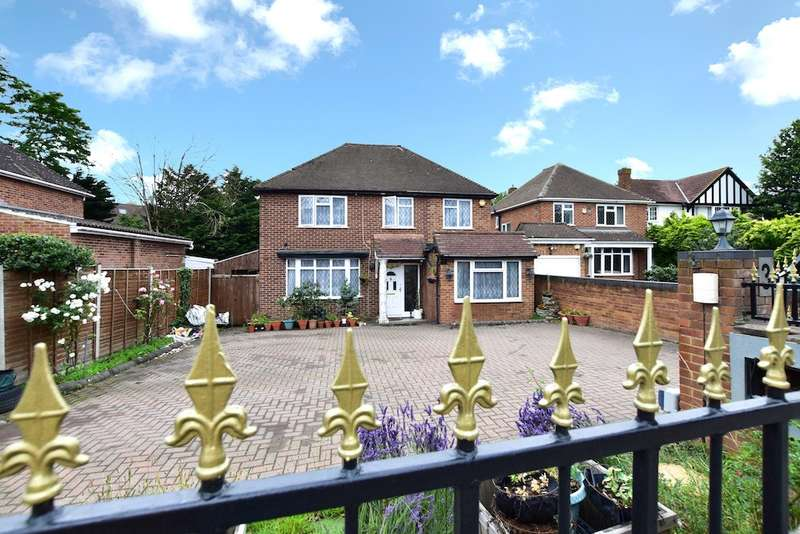 4 Bedrooms Detached House for sale in Thorney Lane South, Richings Park, SL0