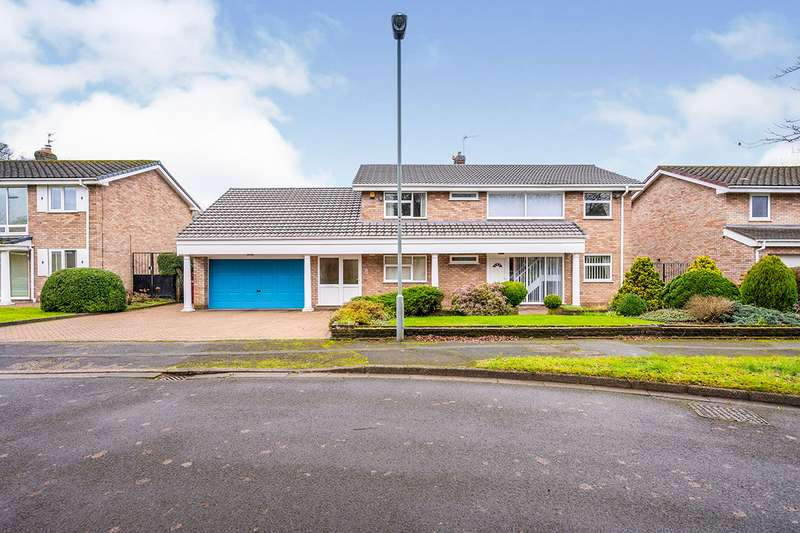 4 Bedrooms Detached House for sale in Woodview, Knowsley, Prescot, Merseyside, L34
