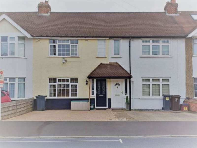 2 Bedrooms Terraced House for sale in Ellington Road, Lower Feltham, TW13