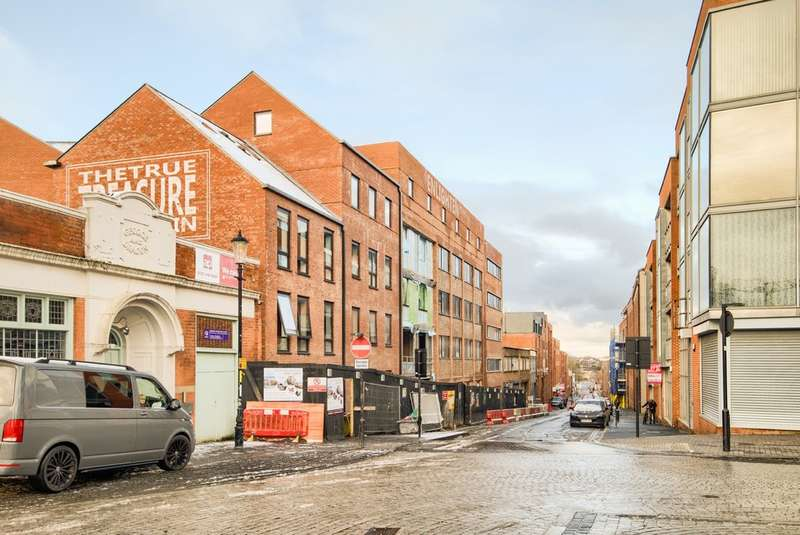 2 Bedrooms Flat for sale in Treasure House, Carver Street, Jewellery Quarter