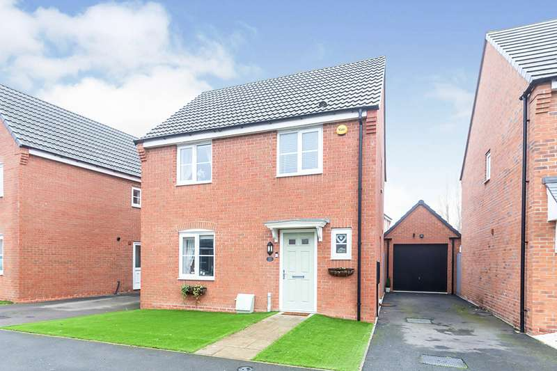 3 Bedrooms Detached House for sale in Amber Way, Burbage, Hinckley, Leicestershire, LE10