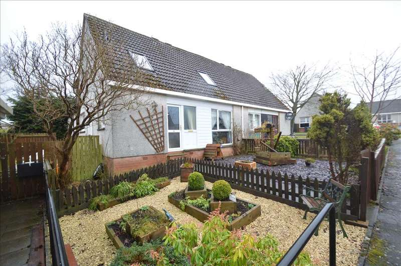 3 Bedrooms Semi Detached House for sale in Millburn Park, Lauder