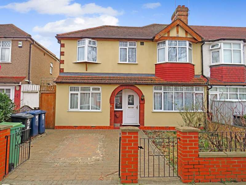5 Bedrooms End Of Terrace House for sale in Jordan Road, Greenford, Middlesex UB6