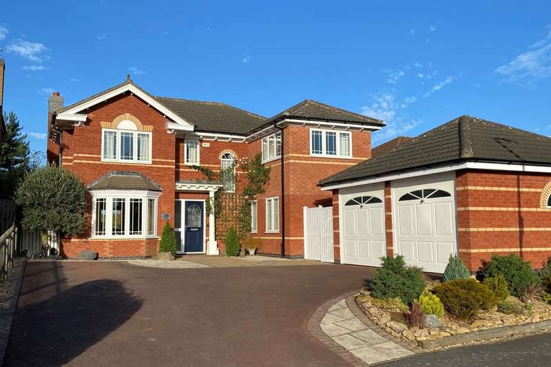 4 Bedrooms Detached House for sale in Carnegie Crescent, Melton Mowbray