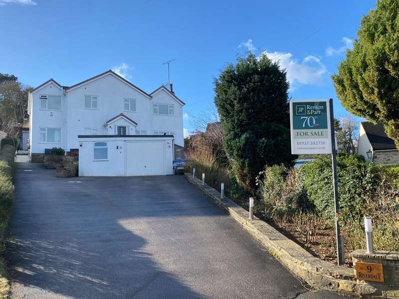 5 Bedrooms Detached House for sale in Langwith Valley Road, Collingham, Leeds LS22