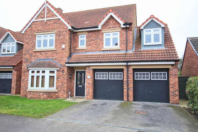 5 Bedrooms Detached House for sale in Cleminson Gardens, Cottingham