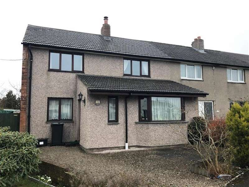 3 Bedrooms Semi Detached House for sale in Hycemoor Way, Bootle Station, Millom, LA19 5XE