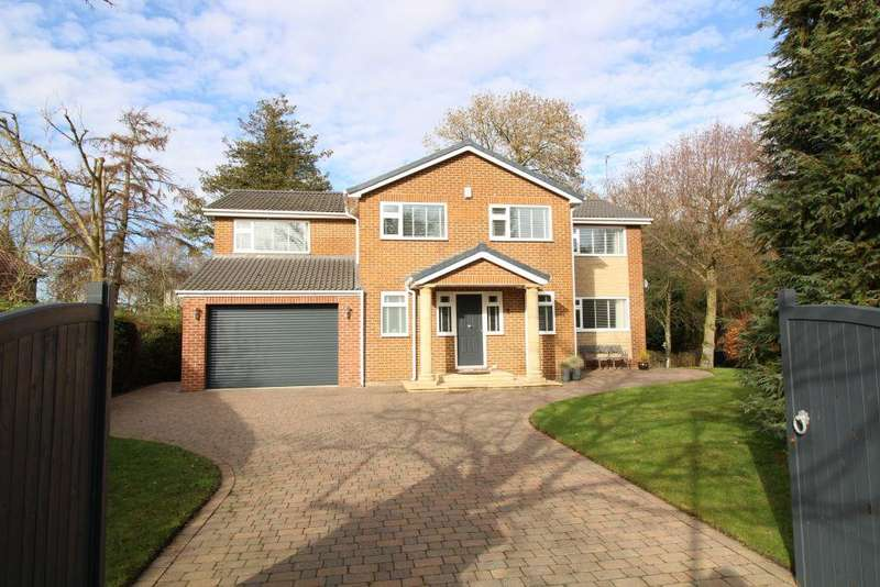5 Bedrooms Detached House for sale in Meadowvale, Darras Hall, Newcastle Upon Tyne, Northumberland