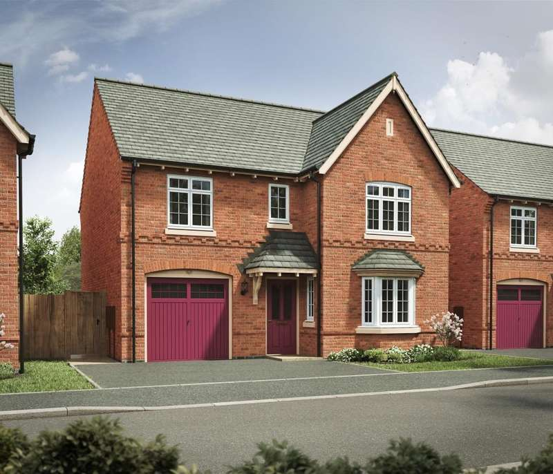 4 Bedrooms Detached House for sale in The Farnhill, Manor Fields, Nuneaton, CV11