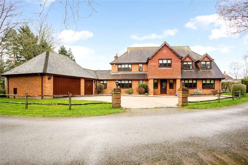 5 Bedrooms Detached House for sale in Reading Road, Mattingley, Hook, RG27