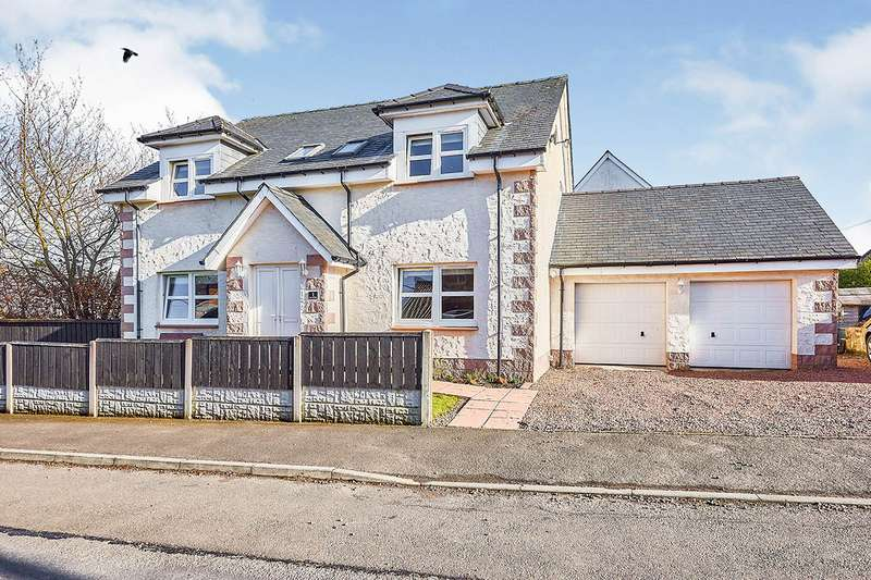 4 Bedrooms Detached House for sale in Maxwell Park, Back Lane, Thornhill, Dumfries and Galloway, DG3