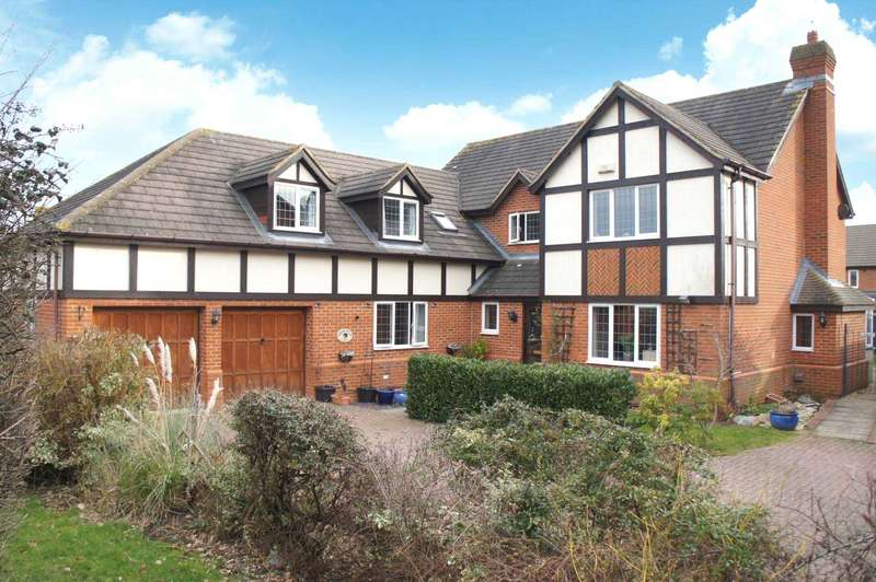 5 Bedrooms Detached House for sale in Summerfield Drive, Wootton
