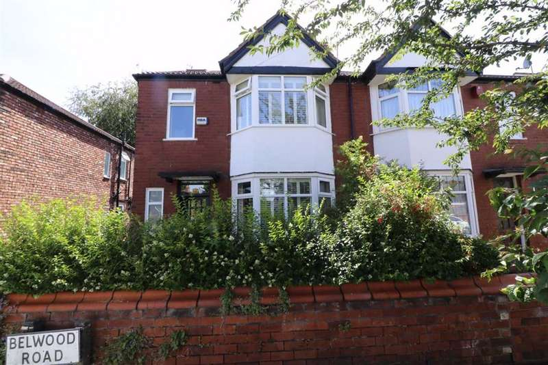 4 Bedrooms Semi Detached House for sale in Belwood Road, Chorlton, Manchester, M21