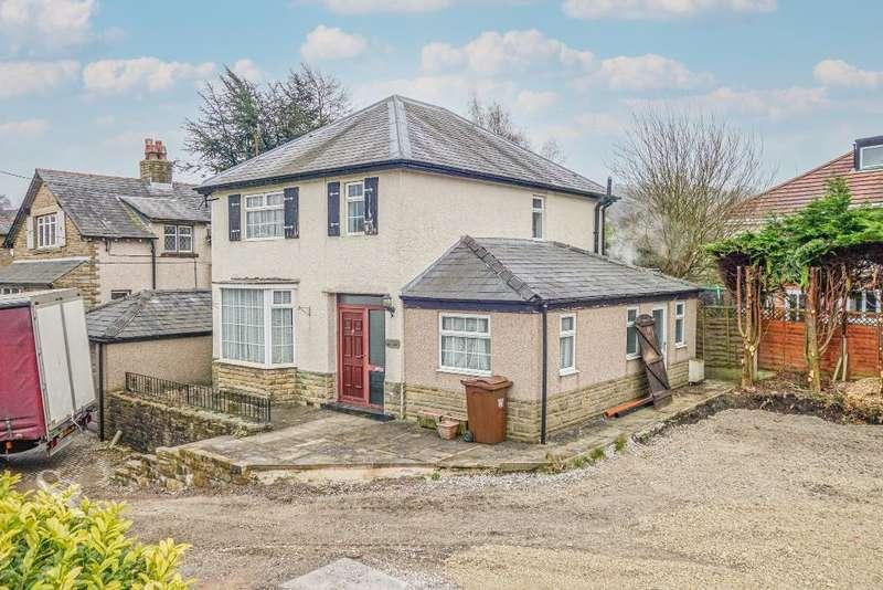4 Bedrooms Detached House for sale in Buxton Road, Chapel en Le Frith, High Peak, Derbyshire, SK23 0PJ