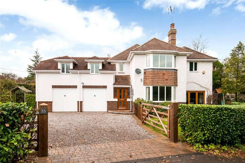 5 Bedrooms Detached House for sale in Main Road, Littleton, Winchester, SO22