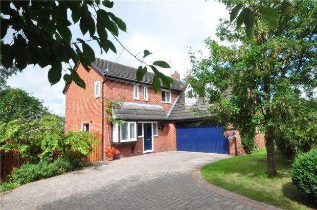 5 Bedrooms Detached House for sale in The Beeches, Hope, Wrexham