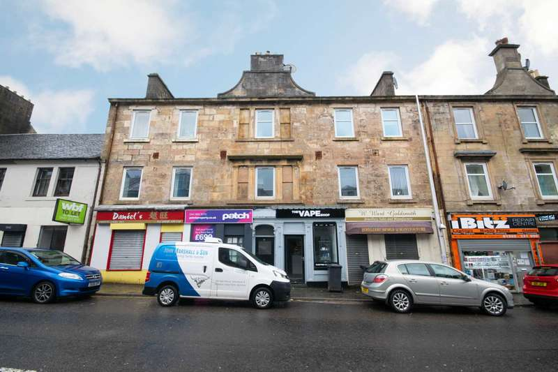 1 Bedroom Flat for sale in High Street, Johnstone, PA5