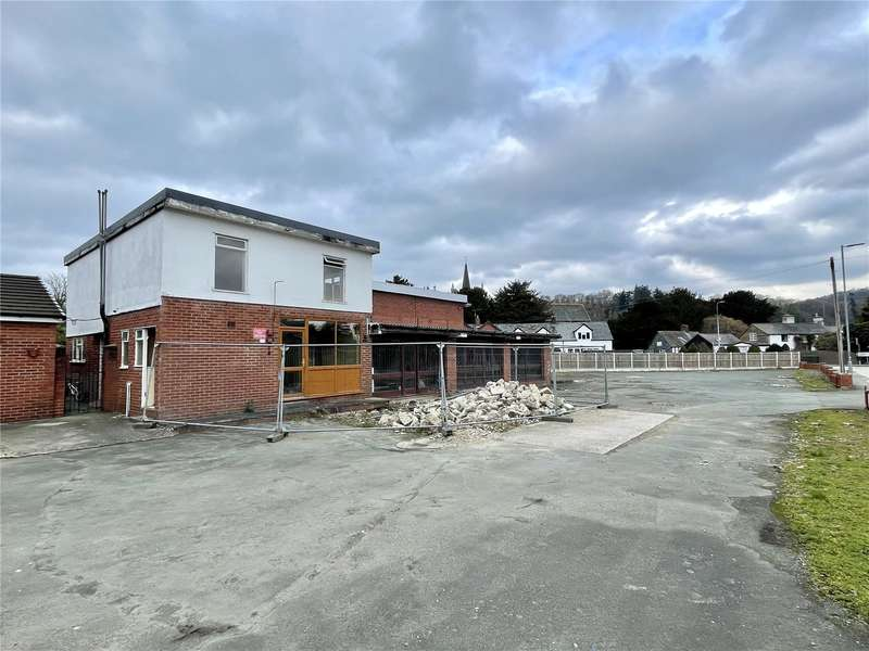 Land Commercial for sale in Former Fairview Garage, Guilsfield, Welshpool, SY21 9ND